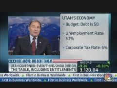 Gov. Herbert Addresses Debt Ceiling Debate