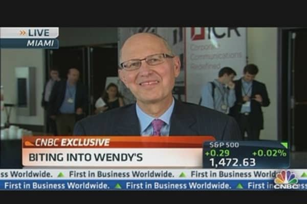 Wendy's CEO Explains Quarter