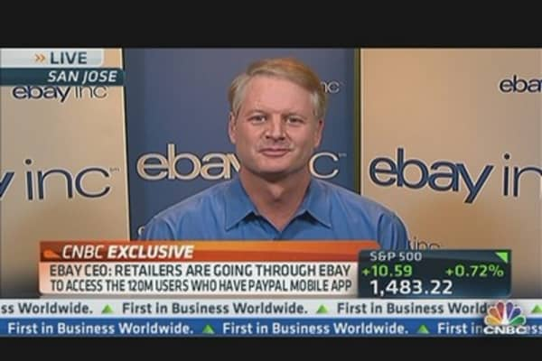 eBay's Donahoe: Core eBay Marketplace Is Back