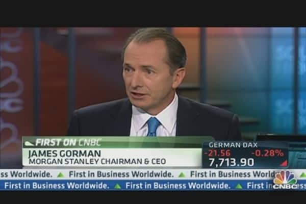 Morgan Stanley's Gorman: 'I'm Bullish on the Market'