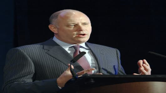 Jeffrey Sprecher, CEO of Intercontinental Exchange is poised to buy the New York Stock Exchange.