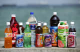 A range of F&N's soft drinks