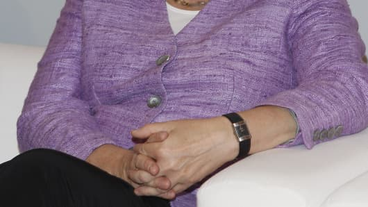 Angela Merkel's watch.