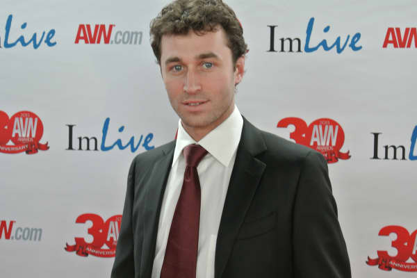 James Deen AVN Awards Red Carpet 2013