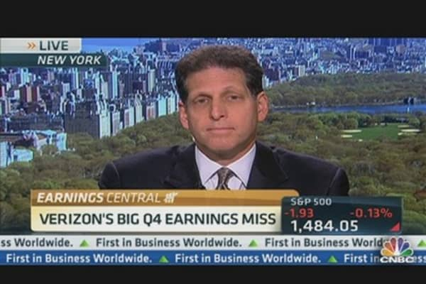 Verizon's Big Q4 Earnings Miss