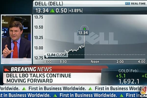 Dell LBO Talks Continue Moving Forward