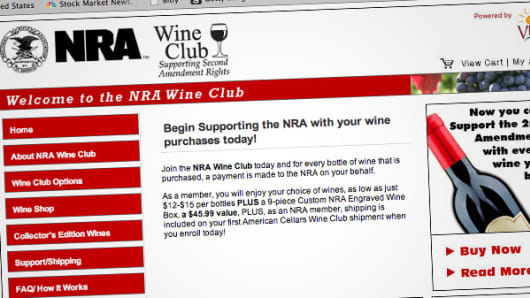 The NRA Wine Club.