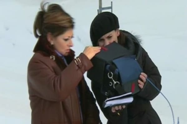 Behind the Scenes at Davos with Maria Bartiromo