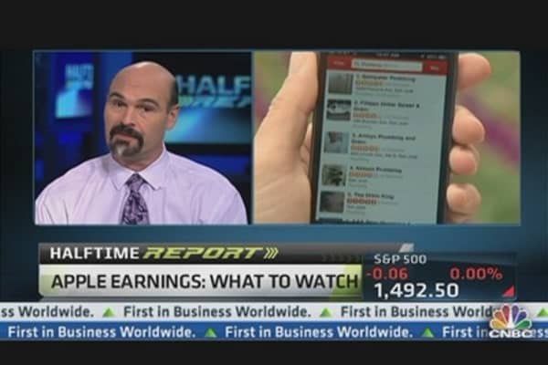 Apple Could Rally on Small Miss: Taner