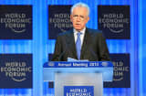 Mario Monti, Prime Minister of Italy speaks at Special Address 'Leading against the Odds' 'at the Annual Meeting 2013 of the World Economic Forum.