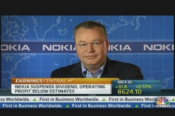 Nokia CEO: We Have Exceeded Guidance for Q4