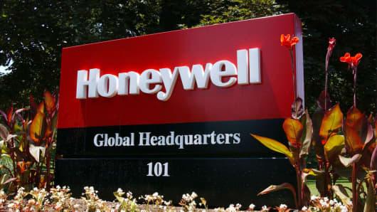 Honeywell signage