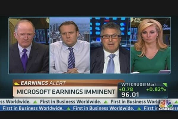 Microsoft Q2 Earnings Out