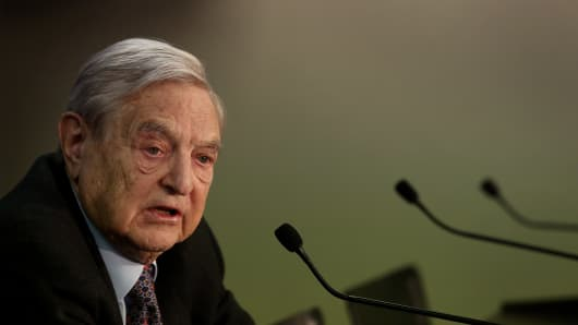 George Soros, founder of Soros Fund Management LLC