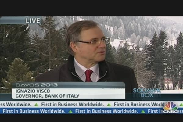 Bank of Italy Gov: No Question BMPS Is Stable