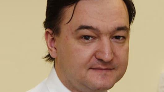 Sergei Magnitsky, deceased man on trial in Russia.