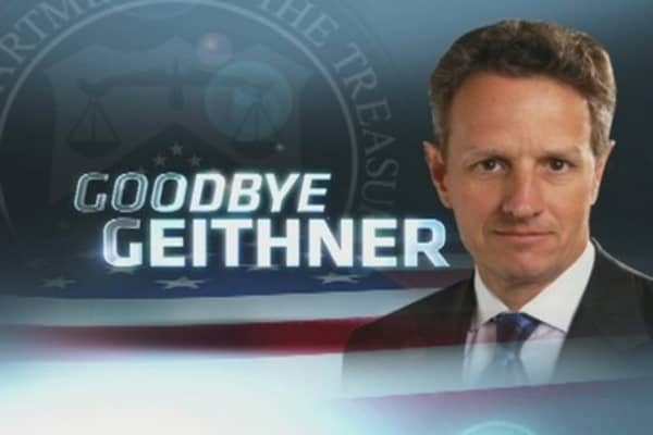 Treasury Secretary Geithner Through the Years