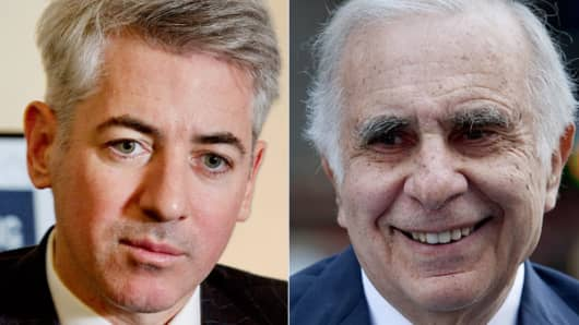 Bill Ackman and Carl Icahn