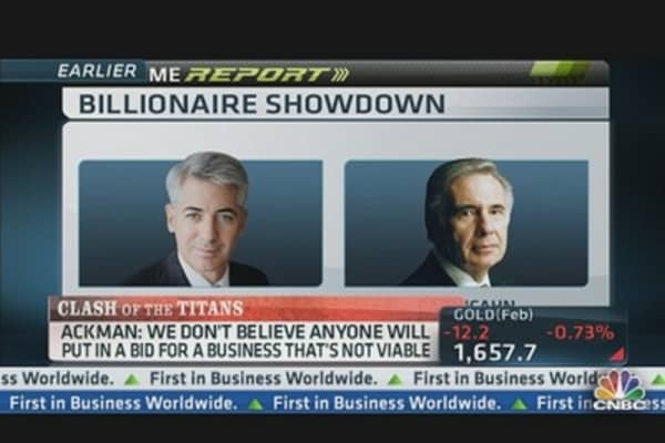 Billionaire Showdown: Ackman vs. Icahn