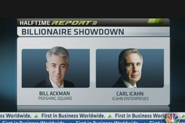 Ackman vs Icahn: The Highlights