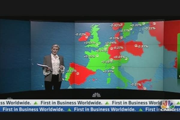 Europe Shares Close Mixed