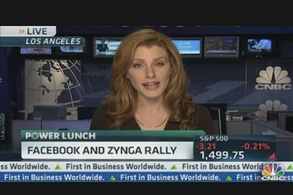 Facebook Shares Higher on Positive Analyst Reports