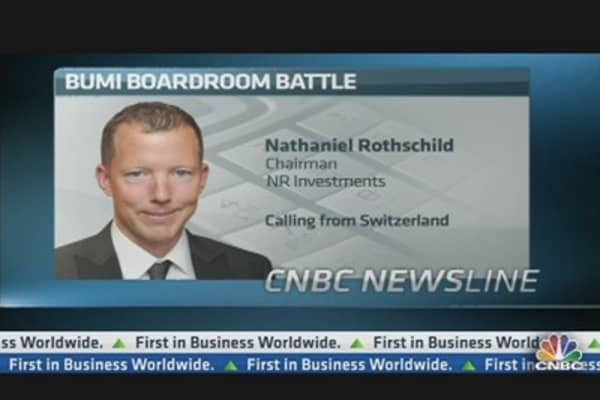 Nat Rothschild on the Bumi Boardroom Battle