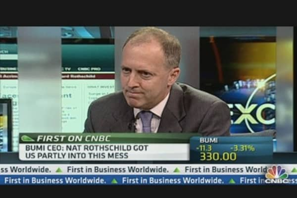 Nat Rothschild Started 'Bumi Mess': CEO