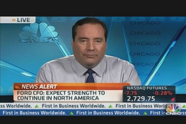 Ford CFO: Expect Strength to Continue In N. America