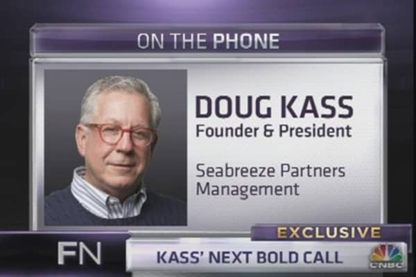 Kass: Here's Why I'm Bearish