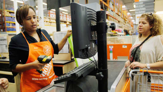 Home Depot retail sales