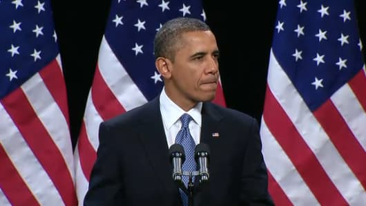 President Barack Obama addresses immigration reform on Jan. 29. 2013 in Las Vegas, Nevada.