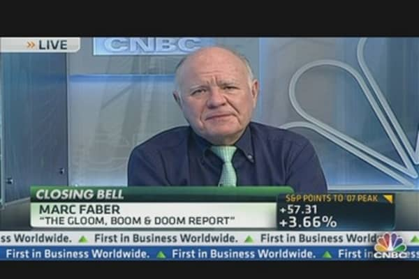 Marc Faber: Correction is Overdue