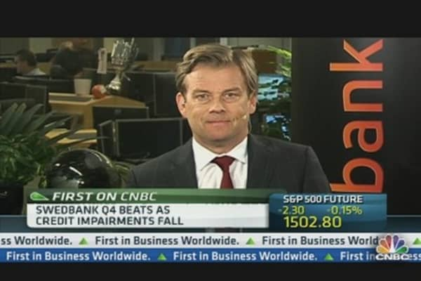 Swedbank CEO: We Are Extremely Well Positioned