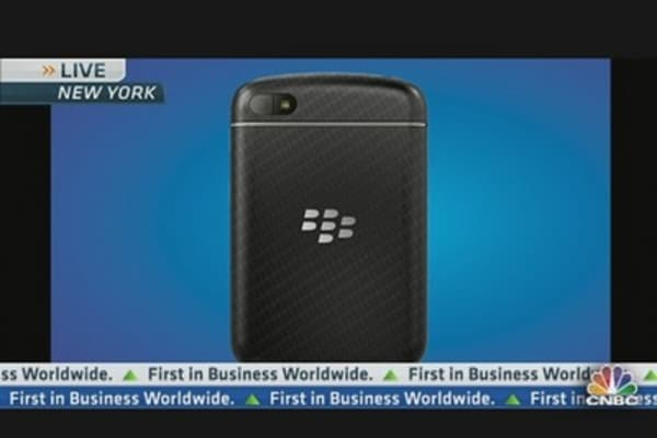 RIM CEO Unveils New BlackBerry 10