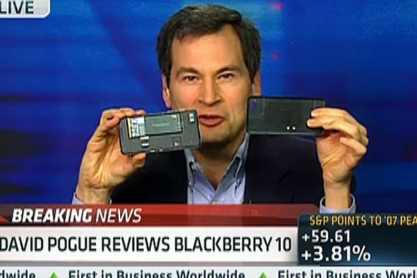 David Pogue's BlackBerry 10 Review: 'Beautiful'