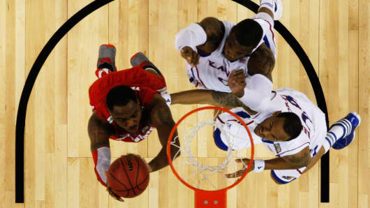 Ohio State Buckeyes vs. Kansas Jayhawks 2012