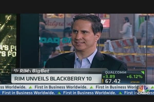 BlackBerry Stock Could Hit $6: Citi's Suva