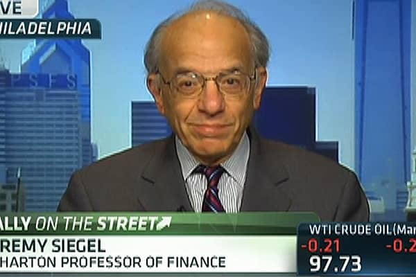 Siegel: Dow Will Siegel: Dow Will 'Definitely' Top 15,000 This Year