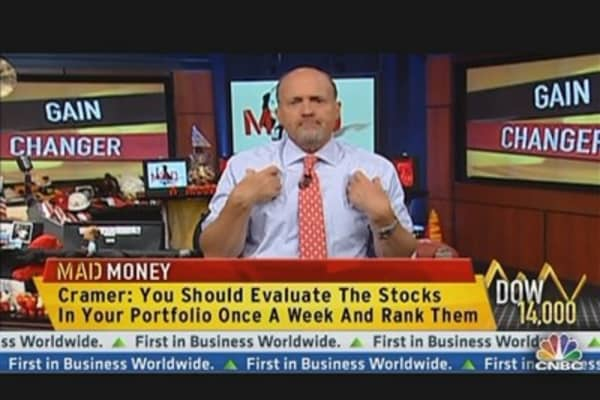 Cramer's Simple Strategy for Selling Stocks