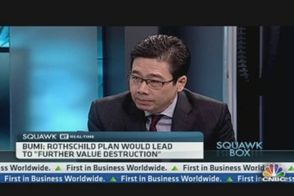 Rothschild Will Destroy Bumi's Value: Chairman