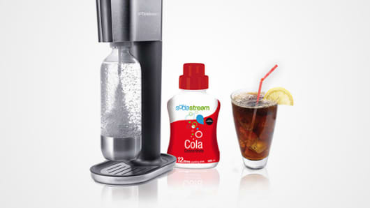 Soda Stream products.