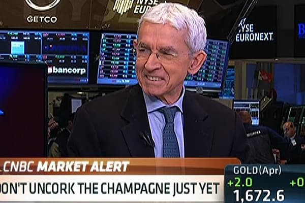 Dow 14,000: Don't Pop the Cork Yet!