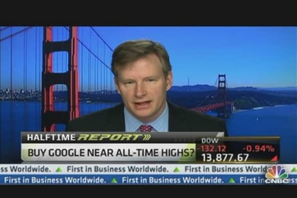 Mahaney: Bet on Google, Not Facebook for 2013