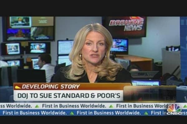 DOJ to Sue Standard & Poor's