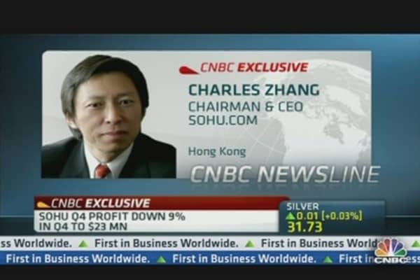 Video Will Be Big Driver of Growth: Sohu CEO