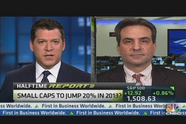 Small Caps Have Room to Run: DeSanctis