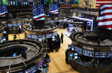 NYSE exchange floor