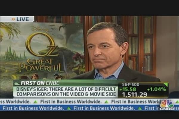 Disney CEO: Earnings & Star Wars 7