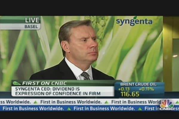 'A Good Year Ahead': Syngenta CEO